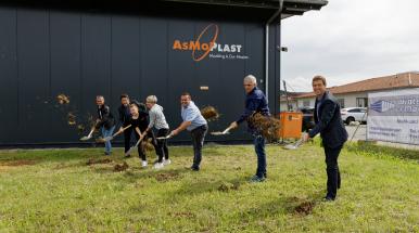 Blogbeitrag Spatenstich neue Produktionshalle Spritzgießzentrum Endingen 4